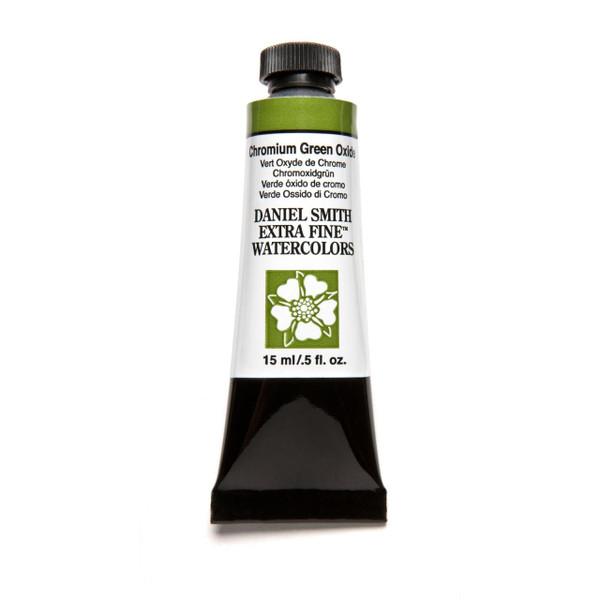 Chromium Green Oxide, DANIEL SMITH Extra Fine Watercolors 15ml Tubes -