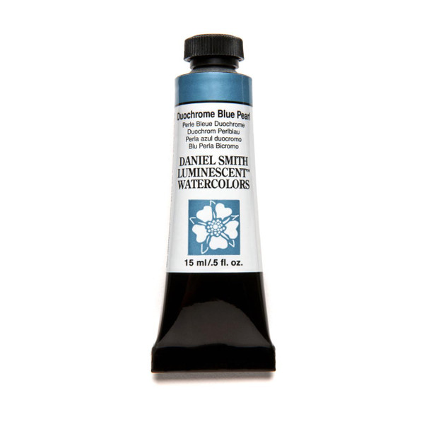 Duochrome Blue Pearl (Luminescent), DANIEL SMITH Extra Fine Watercolors 15ml Tubes -