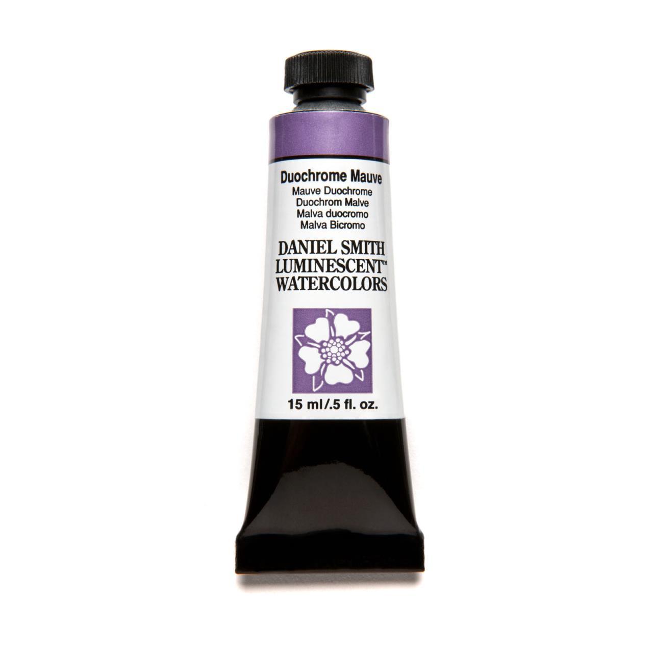 Duochrome Mauve (Luminescent), DANIEL SMITH Extra Fine Watercolors 15ml Tubes -