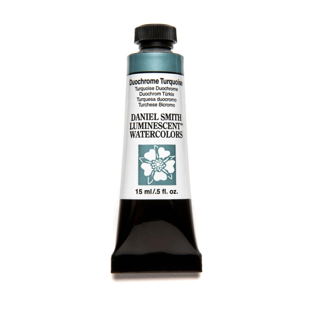 Duochrome Turquoise (Luminescent), DANIEL SMITH Extra Fine Watercolors 15ml Tubes -