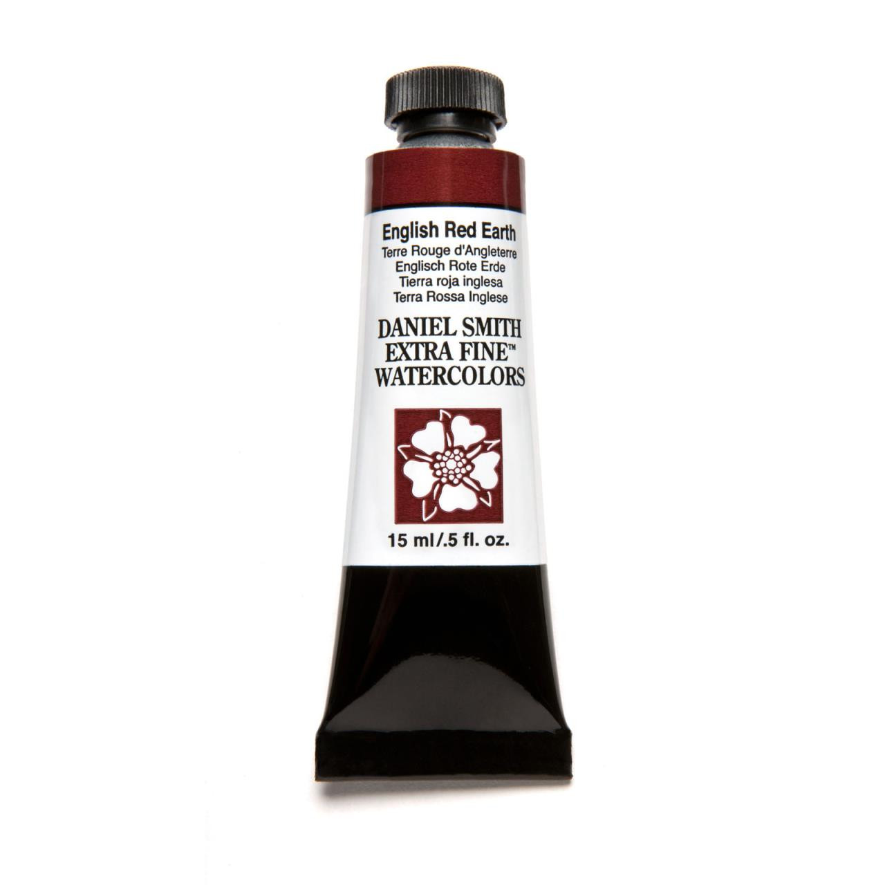 English Red Earth, DANIEL SMITH Extra Fine Watercolors 15ml Tubes -