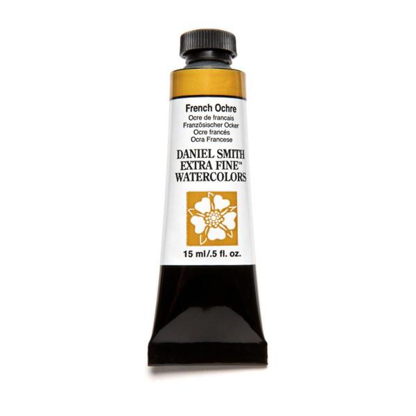 French Ochre, DANIEL SMITH Extra Fine Watercolors 15ml Tubes -