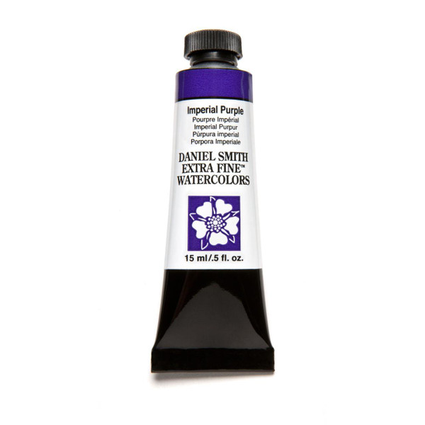 Imperial Purple, DANIEL SMITH Extra Fine Watercolors 15ml Tubes -