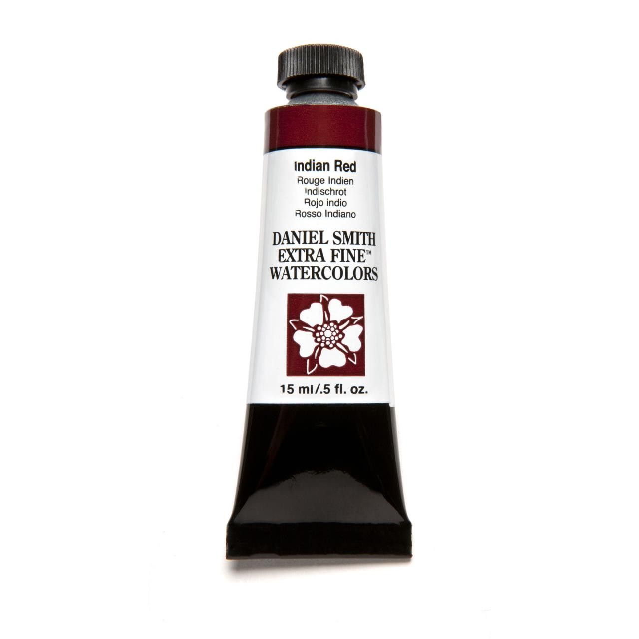 Indian Red, DANIEL SMITH Extra Fine Watercolors 15ml Tubes -