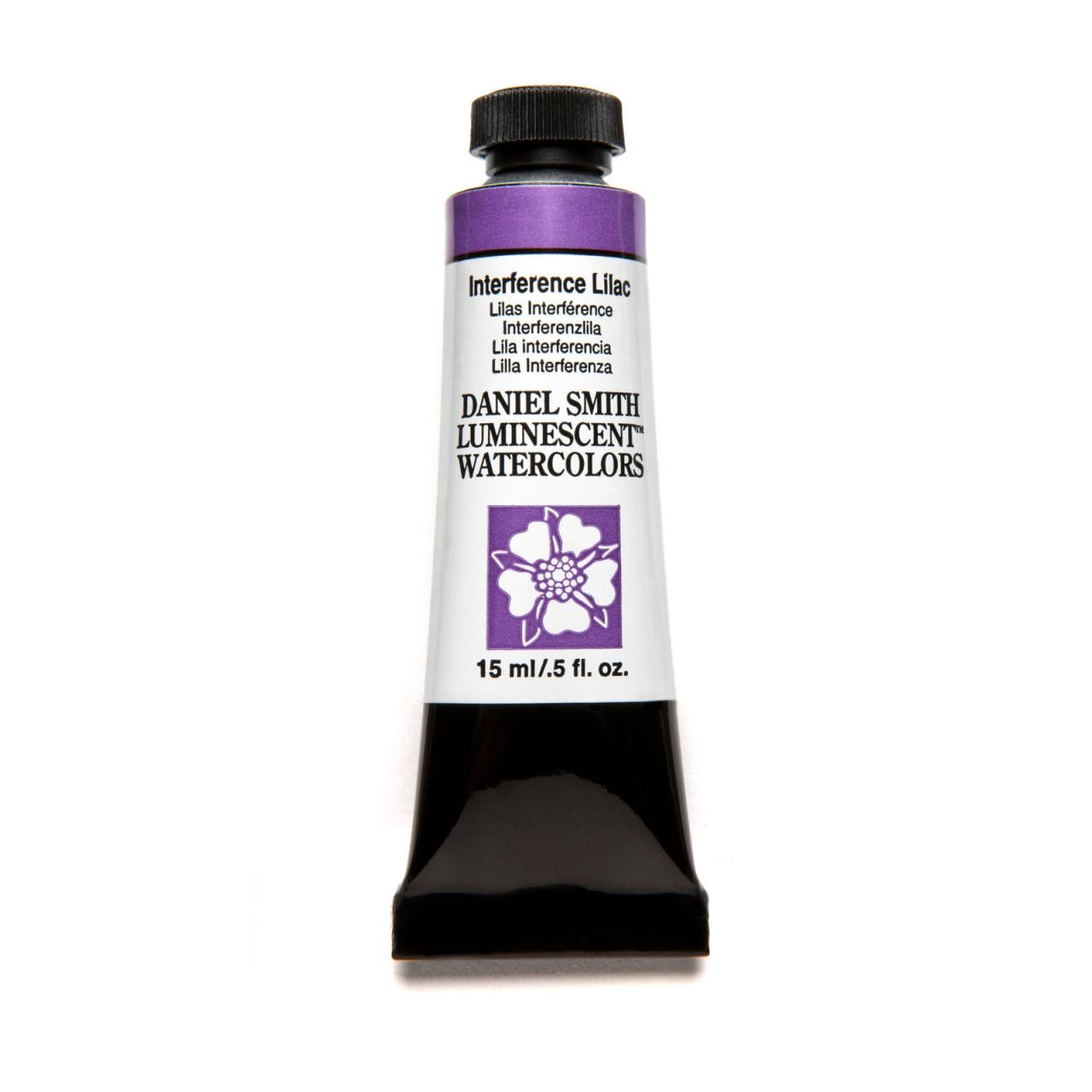 Interference Lilac (Luminescent), DANIEL SMITH Extra Fine Watercolors 15ml Tubes -