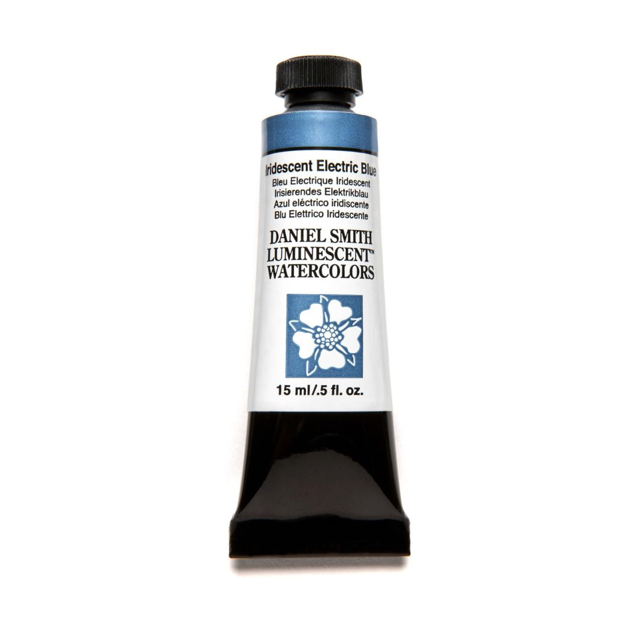 Iridescent Electric Blue (Luminescent), DANIEL SMITH Extra Fine Watercolors 15ml Tubes -