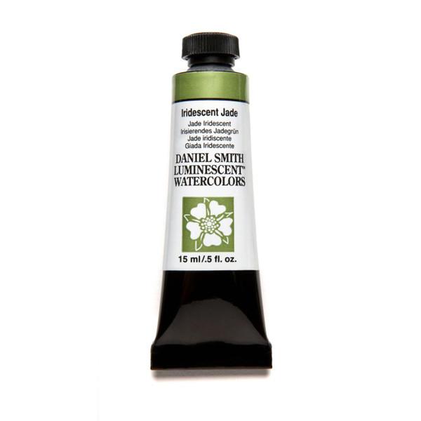 Iridescent Jade (Luminescent), DANIEL SMITH Extra Fine Watercolors 15ml Tubes -