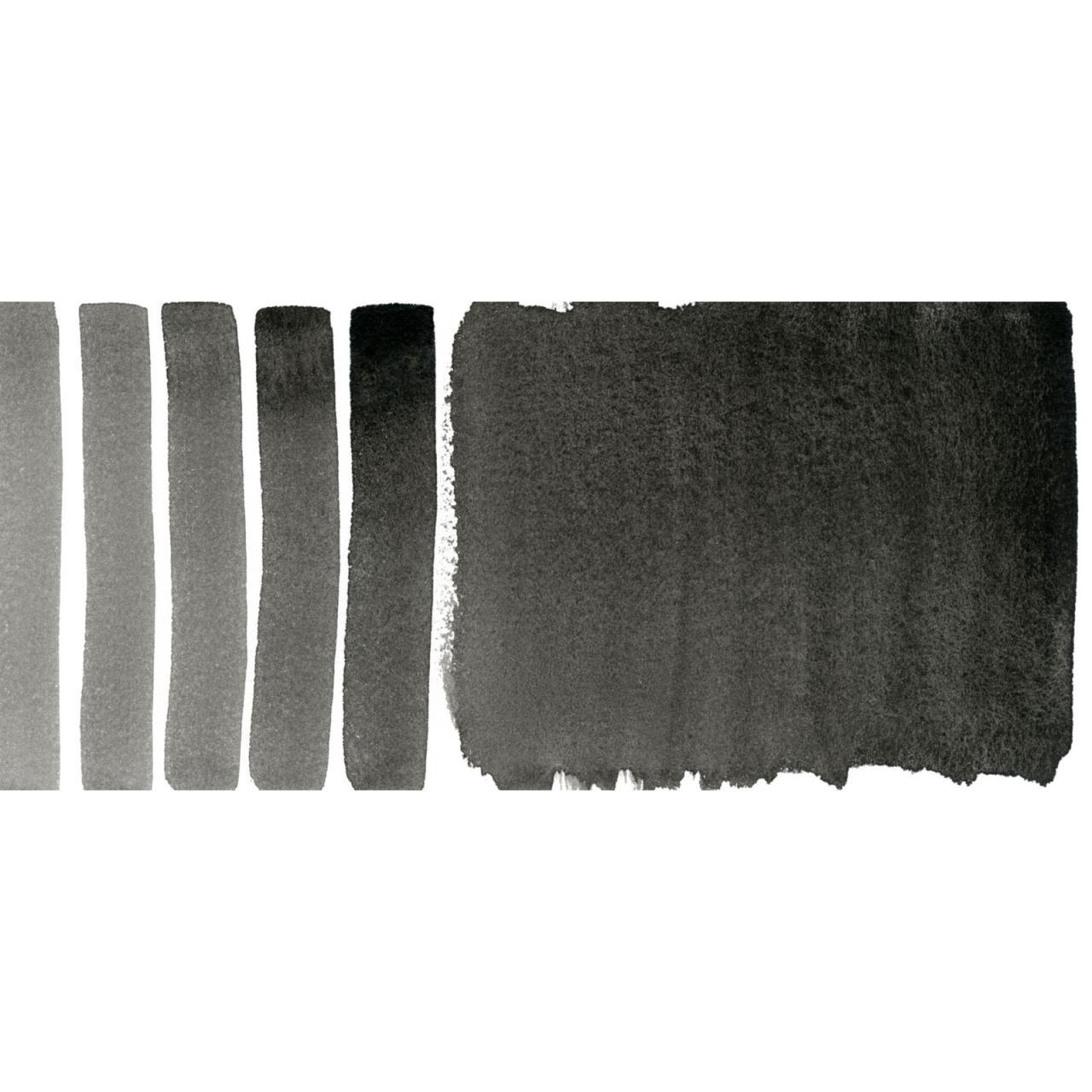 DANIEL SMITH Extra Fine Watercolors 15ml Tubes, Ivory Black - 743162009022