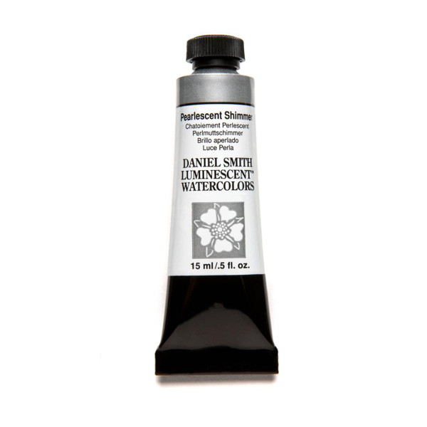 Pearlescent Shimmer (Luminescent), DANIEL SMITH Extra Fine Watercolors 15ml Tubes -