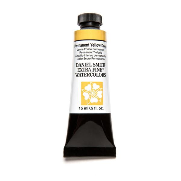 Permanent Yellow Deep, DANIEL SMITH Extra Fine Watercolors 15ml Tubes -