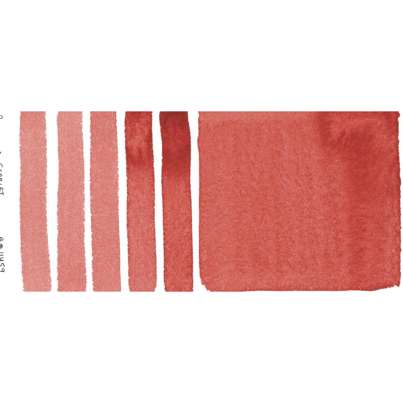 Perylene Scarlet, DANIEL SMITH Extra Fine Watercolors 15ml Tubes -