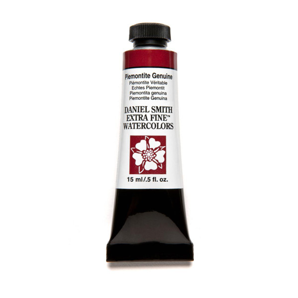 DANIEL SMITH Extra Fine Watercolors 15ml Tubes, Piemontite Genuine (PrimaTek) - 743162028627