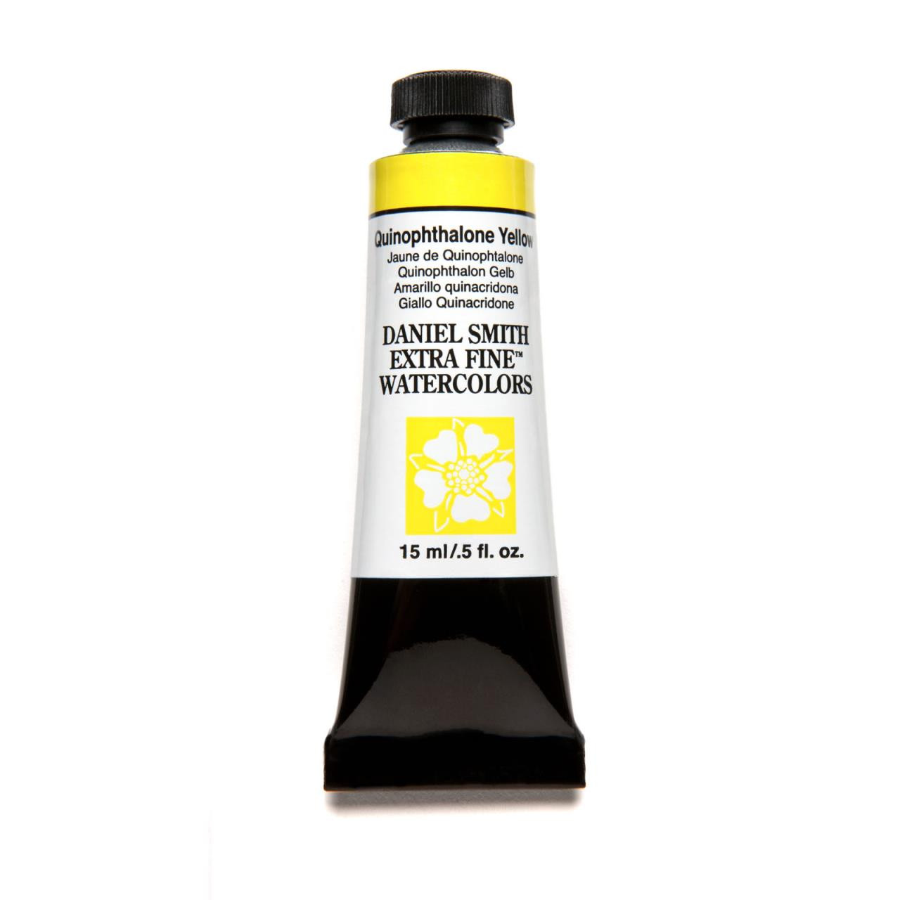 Quinophthalone Yellow, DANIEL SMITH Extra Fine Watercolors 15ml Tubes -