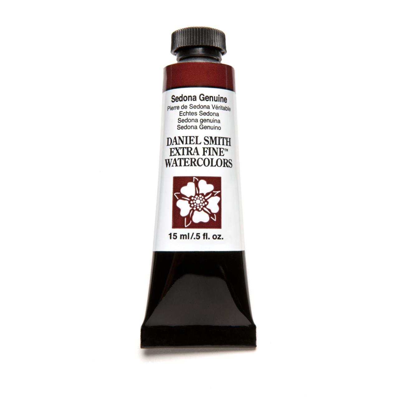 Sedona Genuine, DANIEL SMITH Extra Fine Watercolors 15ml Tubes -