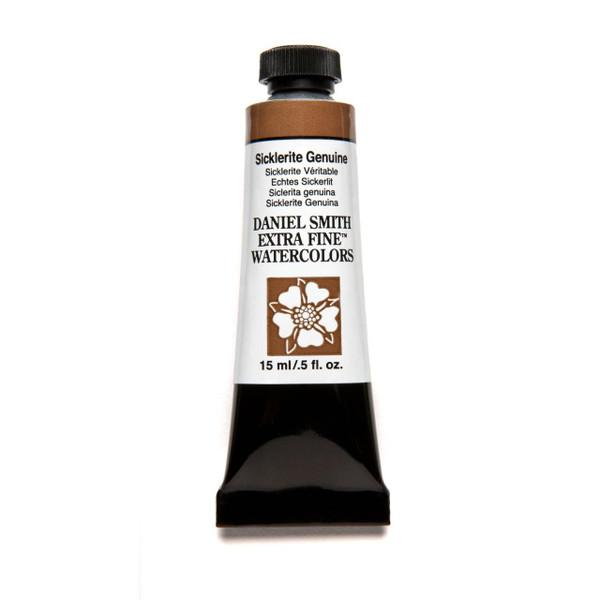 Sicklerite Genuine (PrimaTek), DANIEL SMITH Extra Fine Watercolors 15ml Tubes -