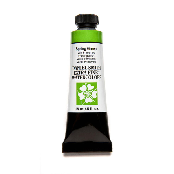 Spring Green, DANIEL SMITH Extra Fine Watercolors 15ml Tubes -