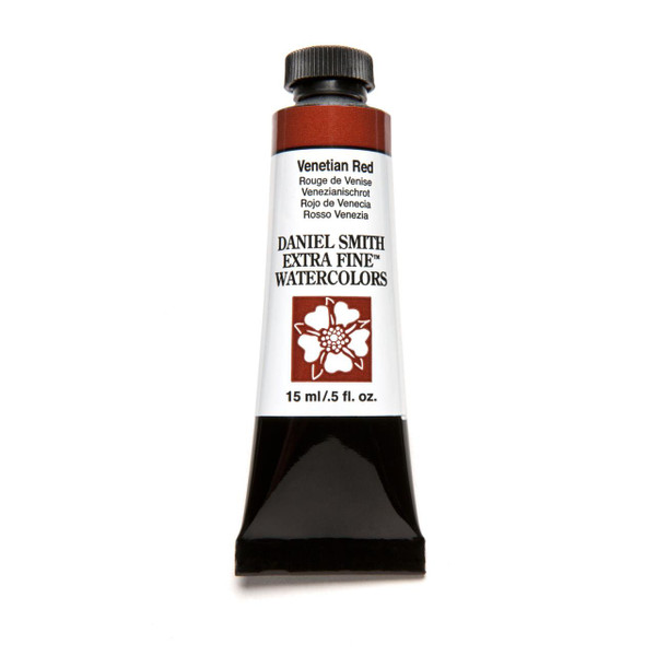 Venetian Red, DANIEL SMITH Extra Fine Watercolors 15ml Tubes -