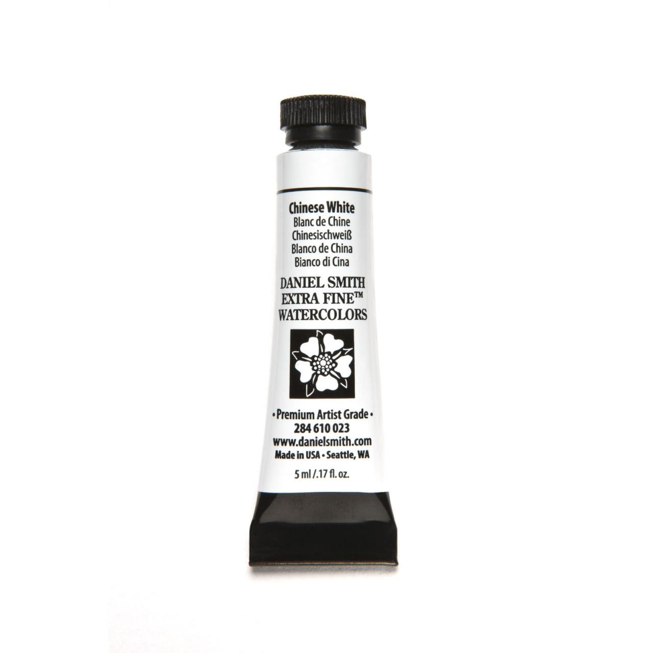 Chinese White, DANIEL SMITH Extra Fine Watercolors 5ml Tubes -