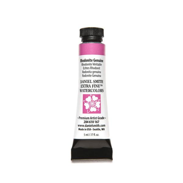 Rhodonite Genuine (PrimaTek), DANIEL SMITH Extra Fine Watercolors 5ml Tubes -