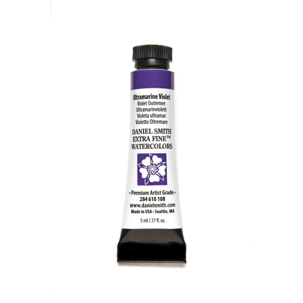 Ultramarine Violet, DANIEL SMITH Extra Fine Watercolors 5ml Tubes -