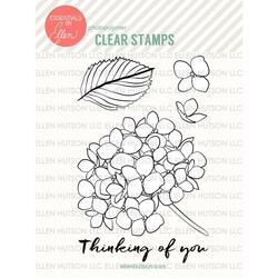 Mondo Hydrangea by Julie Ebersole, Essentials by Ellen Clear Stamps -