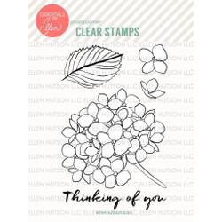 Mondo Hydrangea by Julie Ebersole, Essentials by Ellen Clear Stamps -