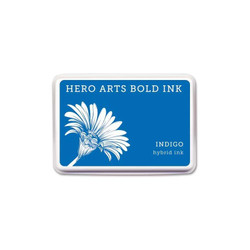 Indigo, Hero Arts Bold Ink Pad (Retiring) -