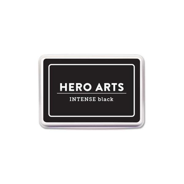Intense Black, Hero Arts Bold Ink Pad -