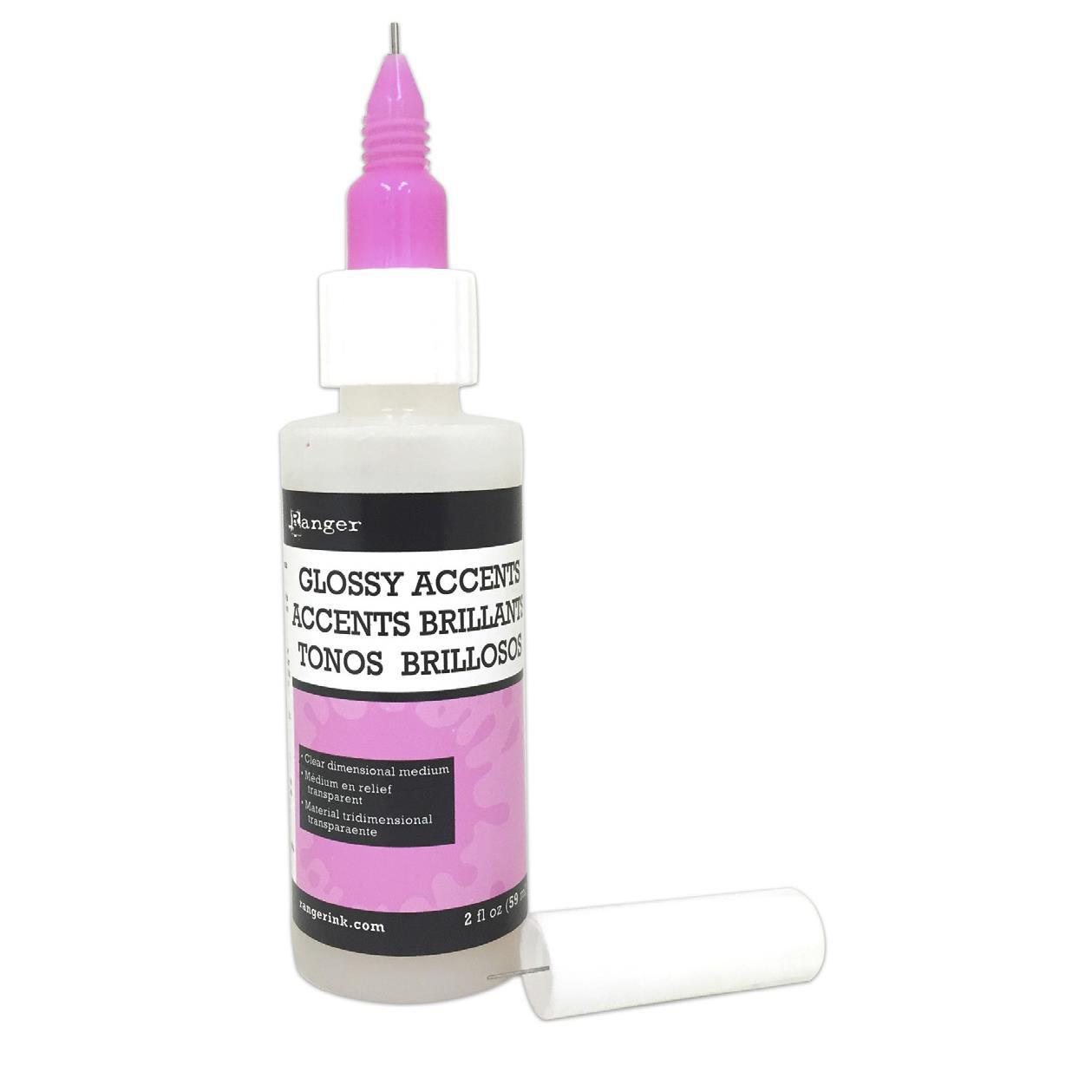 2 oz. (Pink), Ranger Fine Tip Applicators -