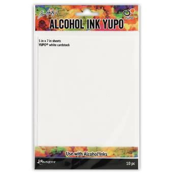White, Ranger Alcohol Ink Yupo -