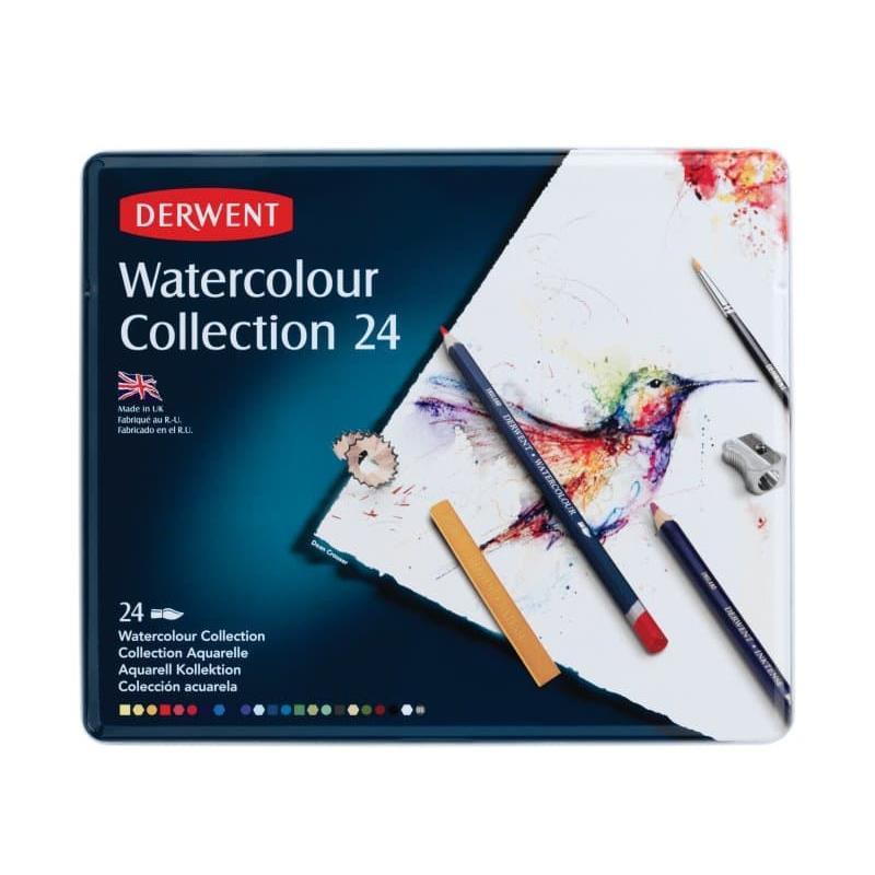 Set of 24, Derwent Watercolour Collection -