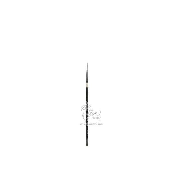 Silver Brush Black Velvet Watercolor Brushes, Short Script Liner 1 -