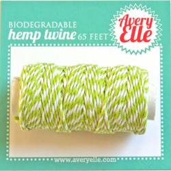 Lucky, Avery Elle Hemp Twine -