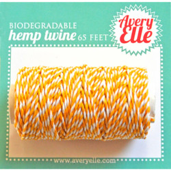 Citrus, Avery Elle Hemp Twine -