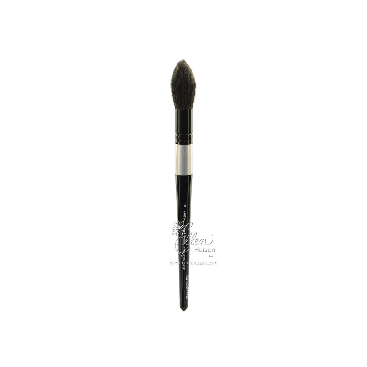 Silver Brush Black Velvet Watercolor Brushes, Short Jumbo Round Wash L -