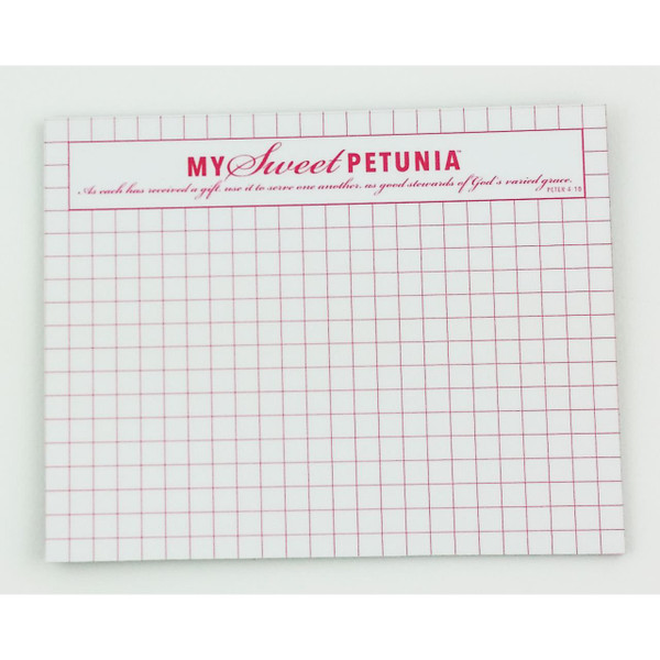 Mini Mouse Pad, My Sweet Petunia -