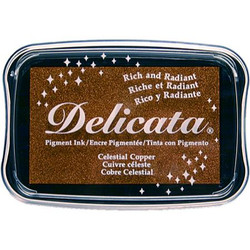 Delicata Ink Pad, Celestial Copper -