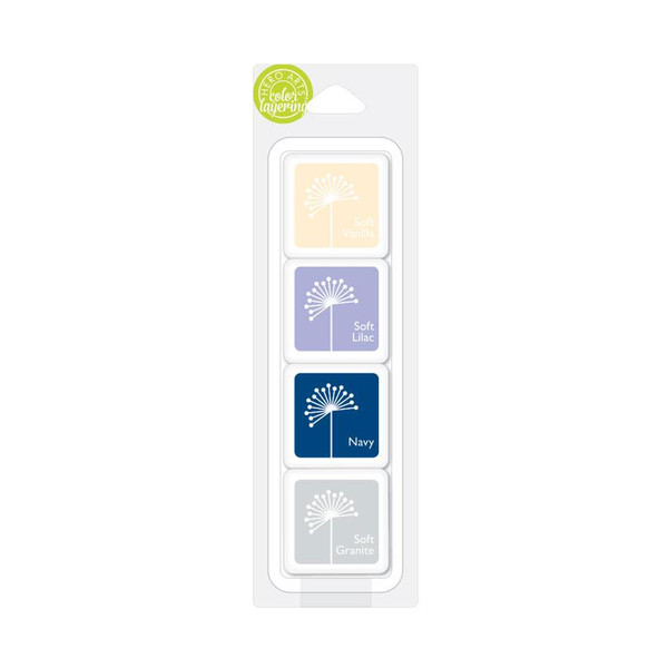 Clare's Soft Flowers, Hero Arts Color Layering Artist Ink Cubes (Retiring) - 857009074842