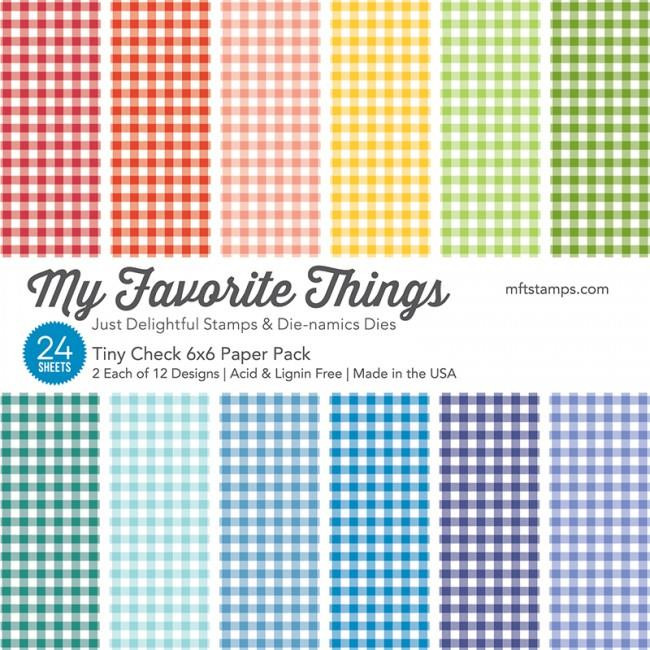 Tiny Check, My Favorite Things Paper Pack -