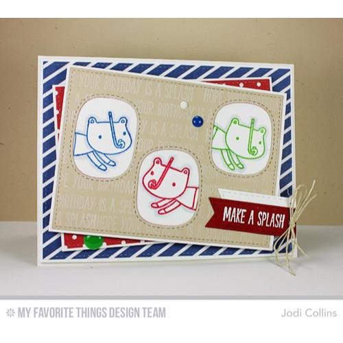 Mirror Image, My Favorite Things Clear Stamps -