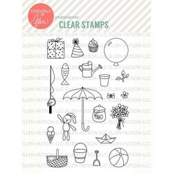 Bear Ware by Julie Ebersole, Essentials by Ellen Clear Stamps -