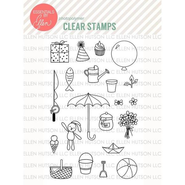 Bear Ware by Julie Ebersole, Essentials by Ellen Clear Stamps -