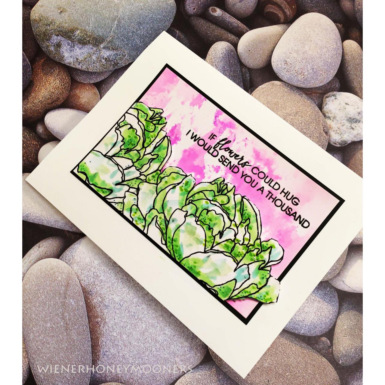 Mondo Peony by Julie Ebersole, Essentials by Ellen Clear Stamps -