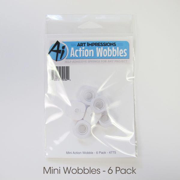Art Impressions Mini Action Wobble, 6 pk - 750810791840