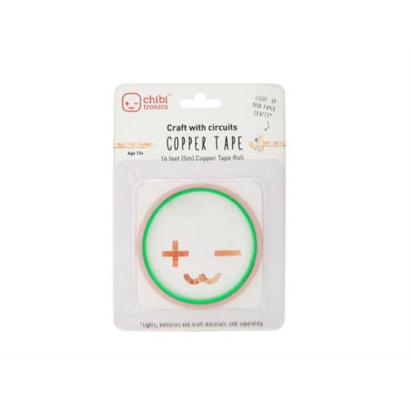 Copper Tape - 16 ft (675353), Chibitronics -