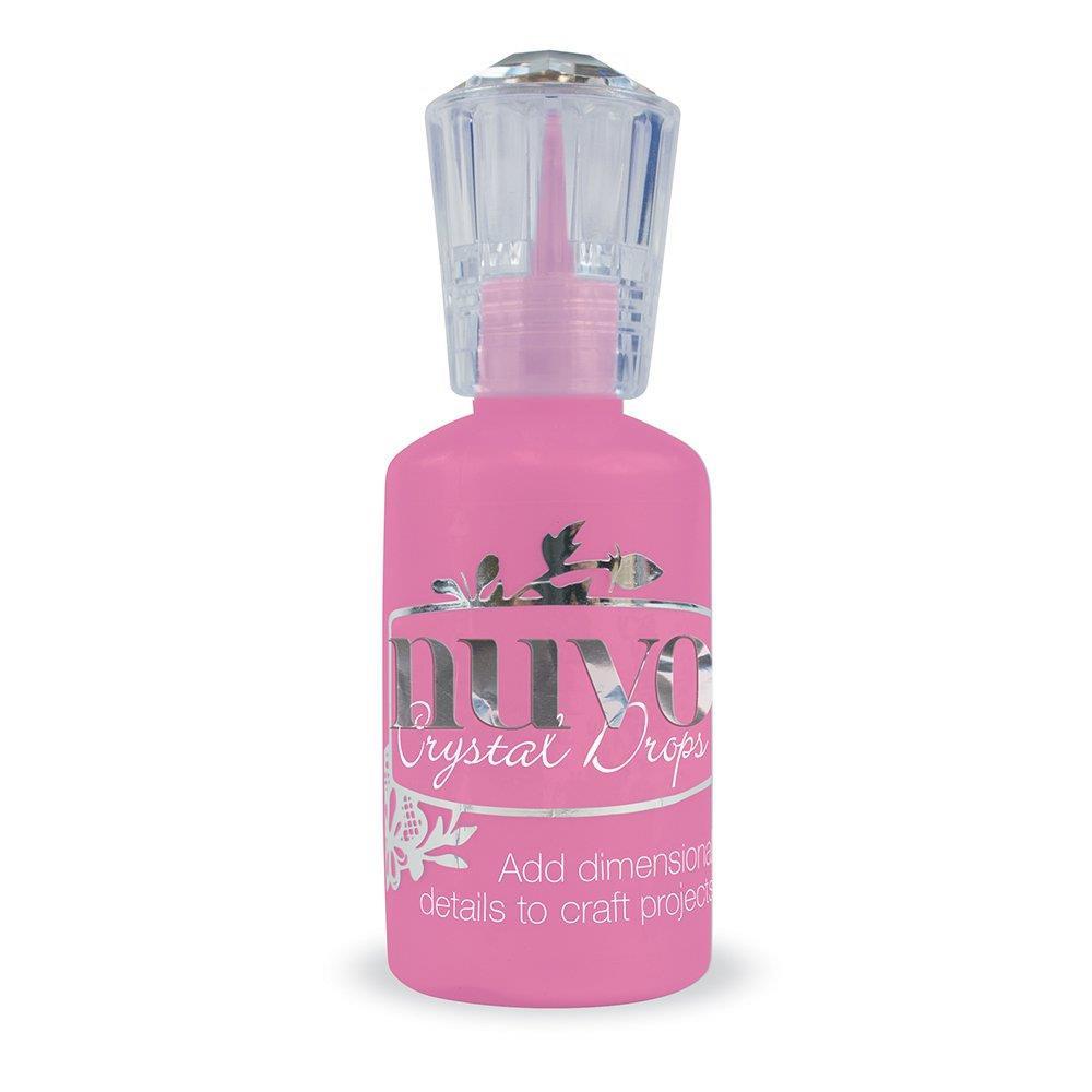 Tonic Nuvo Crystal Drops, Carnation Pink Gloss -
