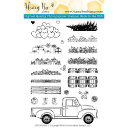 Little Pickup, Honey Bee Clear Stamps -