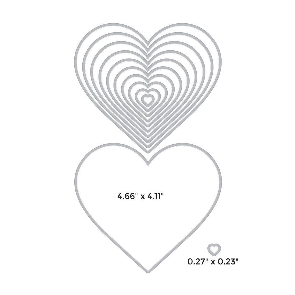 Infinity Nesting Hearts, Hero Arts Dies -