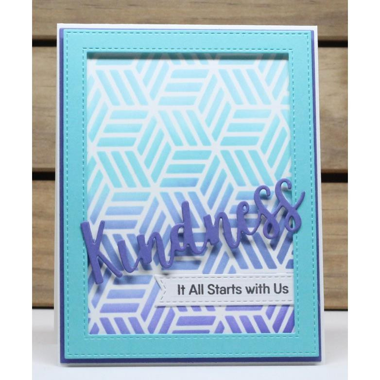 Stitched Sentiment Strips, My Favorite Things Die-Namics -