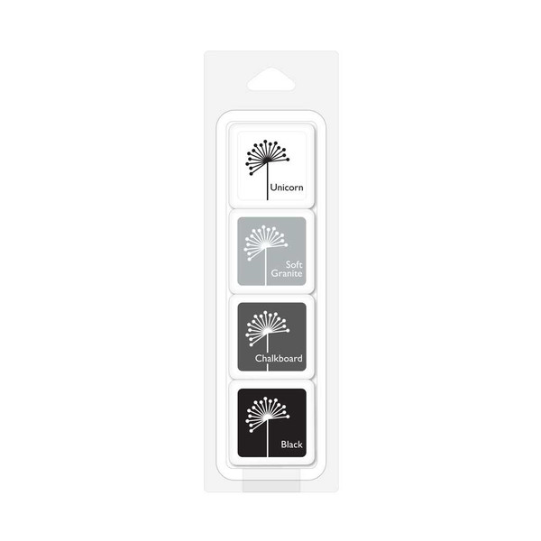 Hero Arts Ink Cubes Pack, Shades of Grey - 857009107052